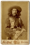 "Cabinet Card of ""Omaha Charlie"""